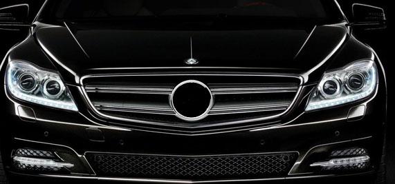mercedes-CL-front
